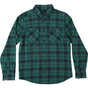 THAT'LL WORK FLANNEL - TEAL GREEN