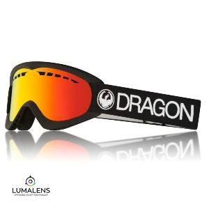 DXS - Black/Lumalens Red Ion
