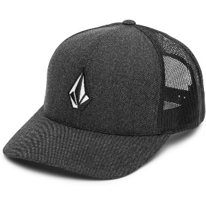 FULL STONE CHEESE CAP - CHARCOAL HEATHER