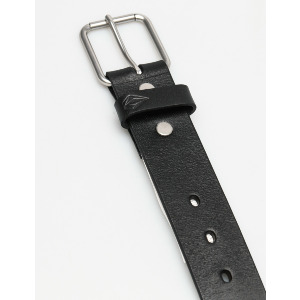 STRANGLER LEATHER BELT - BLK