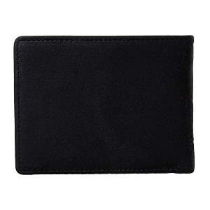 VOLCOM LEATHER WALLET - BLACK