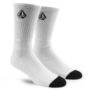 FULL STONE SOCK - WHT