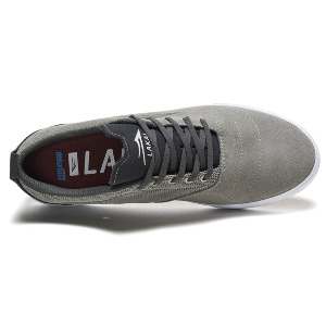 BRISTOL - LIGHT GREY/CHARCOAL SUEDE
