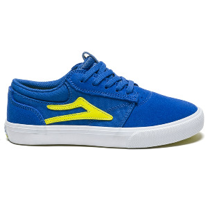 GRIFFIN KID'S - BLUE YELLOW SUEDE