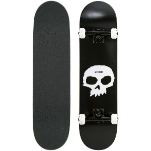 SINGLE SKULL CLASSIC - BLACK