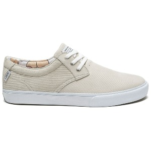 DALY - White Suede