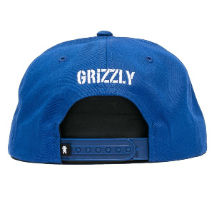 OG Bear Snapback - Blue/Orange