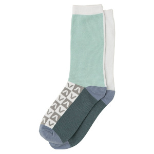 NAME IT SOCK - LIGHT BLUE
