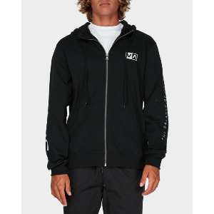 BALANCE REFLECT VA SPORT ZIP - BLACK