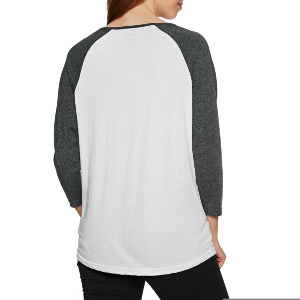 BLOOM RAGLAN - PIRATE BLACK