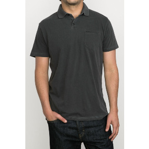 PTC PIGMENT POLO - PIRATE BLACK