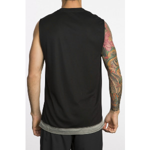 RUNNER MESH VA SPORT MUSCLE - BLACK