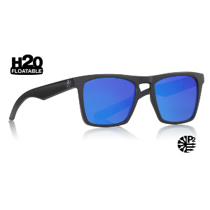 Drac - Matte Black H2O/Blue Ionized Polar