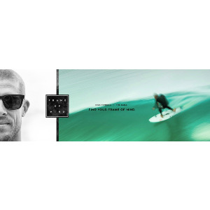 Baile - Mick Fanning Sign. Matte Crystal H2O/Shadow Blue Ionized Polar
