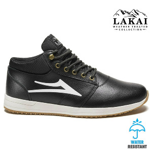 Griffin Mid WNTR - Black Leather2