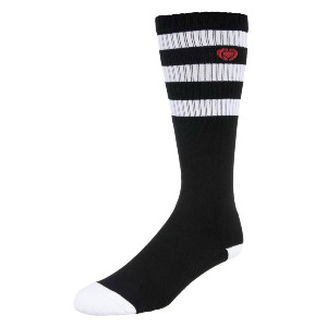 M.I.B. SOCKS - Black/White