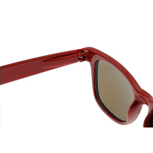 DELUXE SUNGLASSES - Red