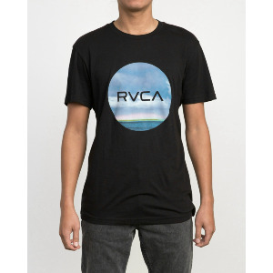 RVCA MOTORS STANDARD T-SHIRT - BLACK