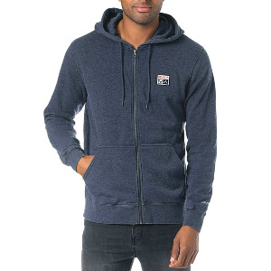 FOXHOLE ZIP - DENIM HEATHER