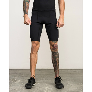 VA COMPRESSION SHORT - BLACK