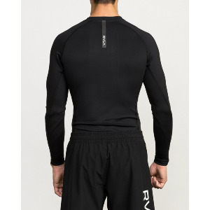 VA SPORT COMPRESSION LS CR - BLACK
