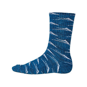 Flare Sock - Blue Marl