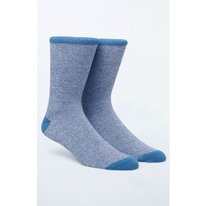 RVCA SPACE SOCK - BLUE