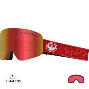 NFX - MAZE/LUMALENS RED IONIZED + LUMALENS ROSE LENS