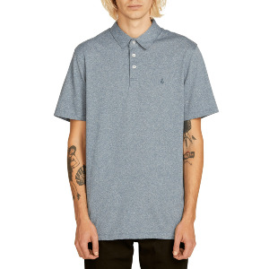 WOWZER POLO - NAVY HEATHER