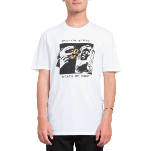 STATEOFMIND LTW SS TEE - WHITE