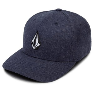 FULL STONE XFIT HAT kid's - NAVY HEATHER