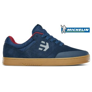 MARANA - NAVY/RED/GUM