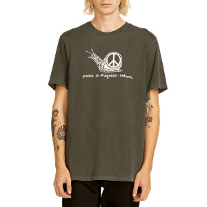 PEACEISPROGRESS SS TEE - BLACK