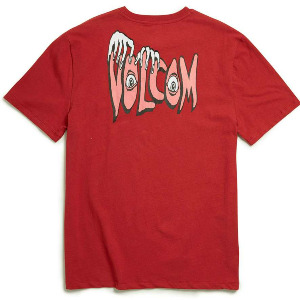 VOLCOM PANIC BXY SS TEE - BURGUNDY HEATHER