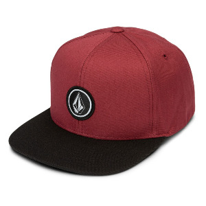 QUARTER SNAPBACK kid's - BURGUNDY