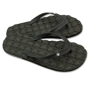 RECLINER RUBR 2 SANDALS - BLACK