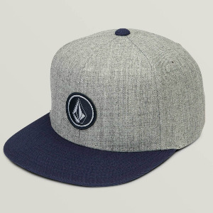 QUARTER SNAPBACK - MEDIUM GREY