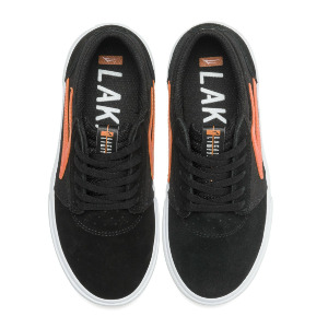 Griffin Kid's - Black/Orange Suede