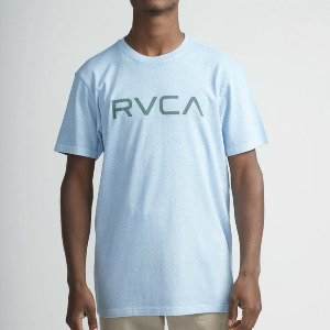 BIG RVCA T-SHIRT - ETHER BLUE