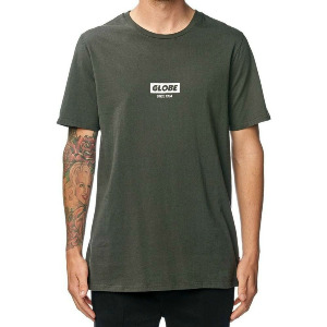 Stamped Tee - Washed Black