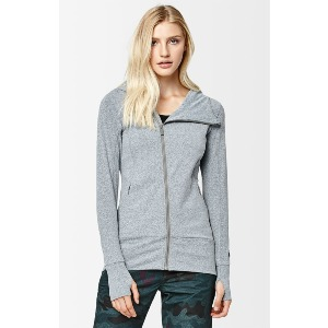 VALLICAN FULL ZIP - HEATHER GREY
