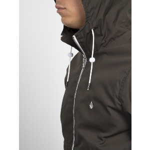 HOWARD HOODED JACKET - DARK KHAKI