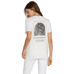 LOCK IT UP TEE - STAR WHITE