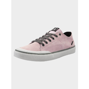 LEEDS SUEDE SHOE - FADED PINK
