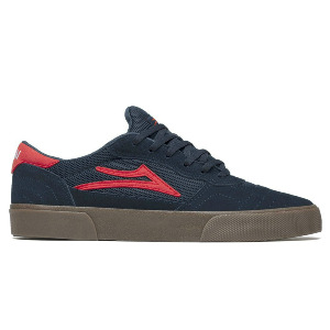 CAMBRIDGE - NAVY/Flame Suede