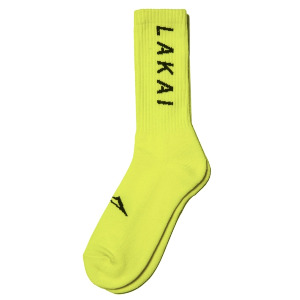 SIMPLE CREW SOCK - NEON GREEN