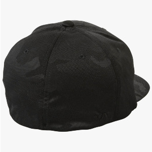 RVCA FLEX FIT HAT - BLACK CAMO