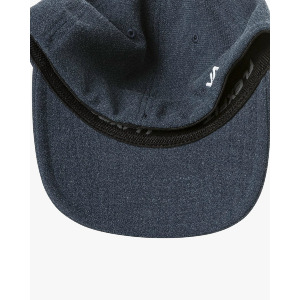 RVCA FLEX FIT HAT - NAVY HEATHER