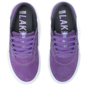 GRIFFIN KID'S - Purple/Black Suede