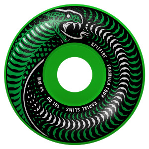 FORMULA FOUR VENOMOUS RADIAL SLIM - GREEN/BLACK MASHUP 54MM 101A